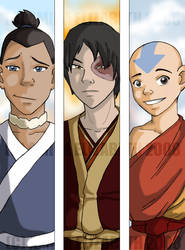Boys of Season 3 Colored by AmiraElizabeth
