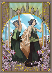 The Beifong Sisters