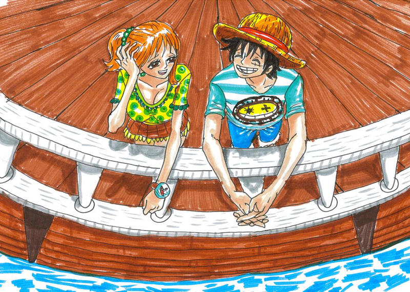 One Piece, Luffy X Nami By Heivais On DeviantArt