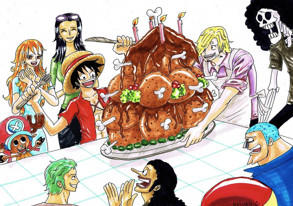 Birthday Calendar One Piece : Happy birthday luffy by heivais on deviantart