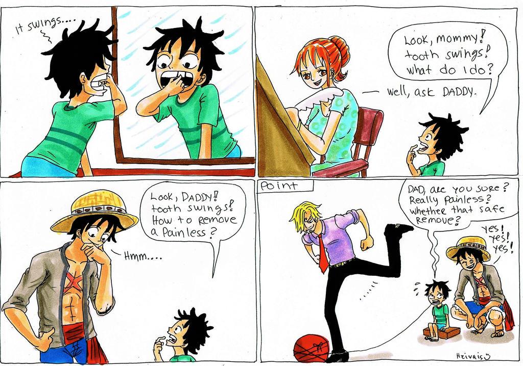 Luffy X Reader Baby Daddy ||