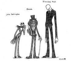 Long legs and slender men by heivais