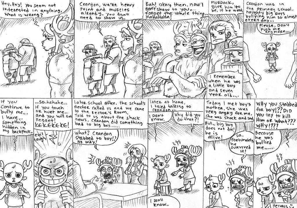 Crandon s body changes, part 8 by heivais