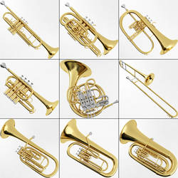 Brass Sheet Music Instruments by brass-music-online