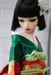 Rin in gerrn kimono