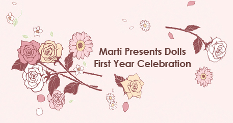 Marti Presents Dolls First Year Celebration! by ball-jointed-Alice