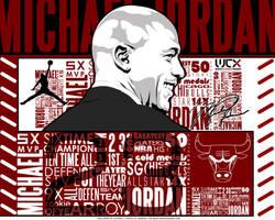 Michael Jordan vector by Cotovelo