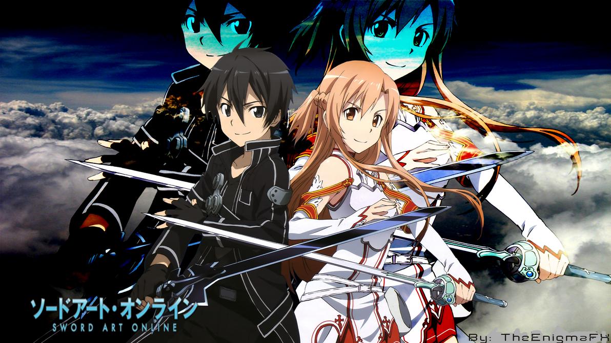 sword art online desktop backgroundtheenigmafxtheenigmafx on