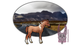 Red Roan Tobiano - Foal Design