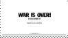 War Is Over! Stamp by ZekeMcIlvain