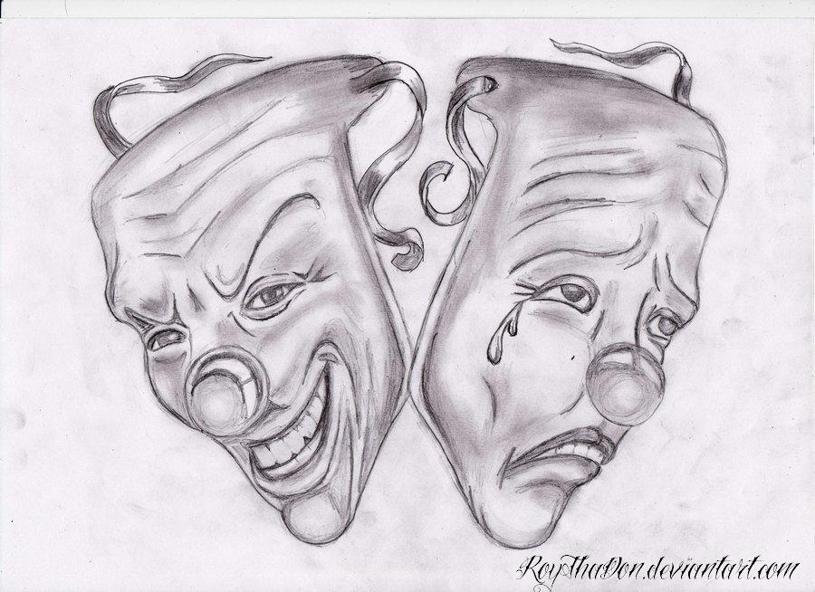Top Drawing Cry Later Smile Now Payaso Graffiti Tattoo