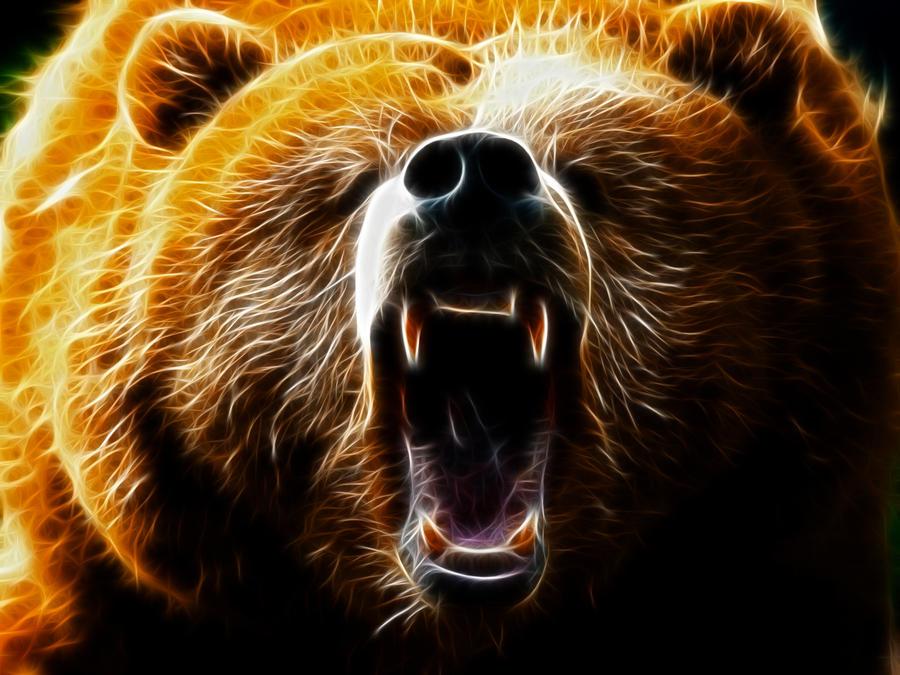 Bear art wallpaper
