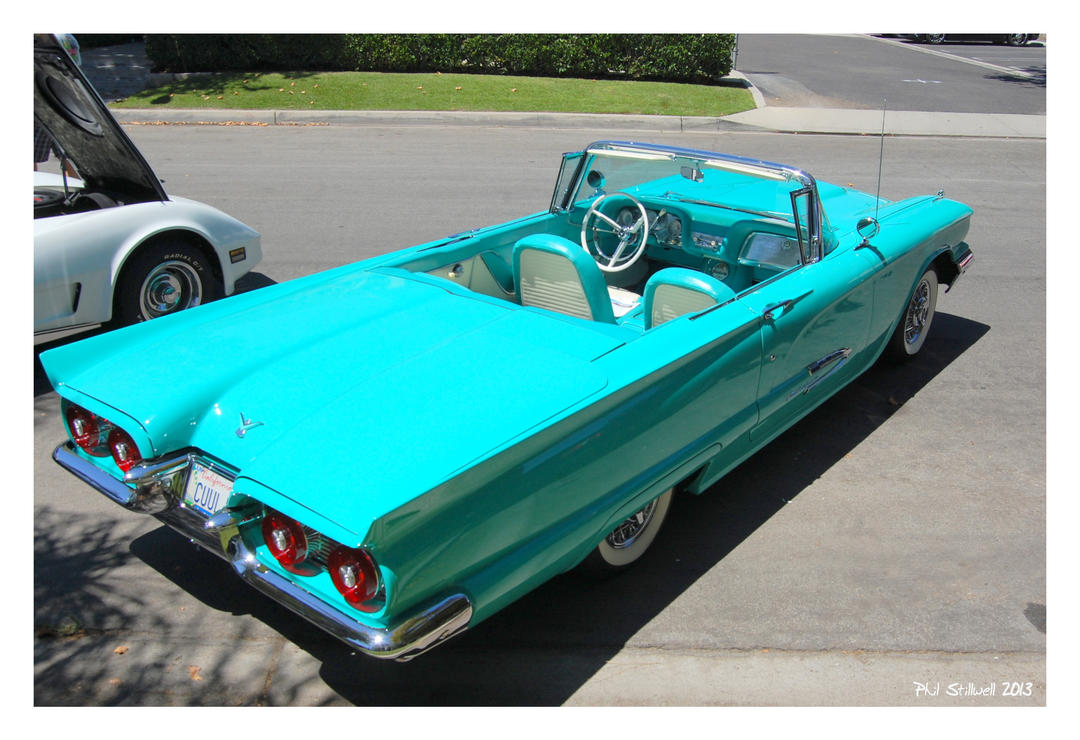 Turquoise Thunderbird by pjs1998