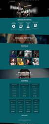 Parasponsive WordPress Theme by sandracz