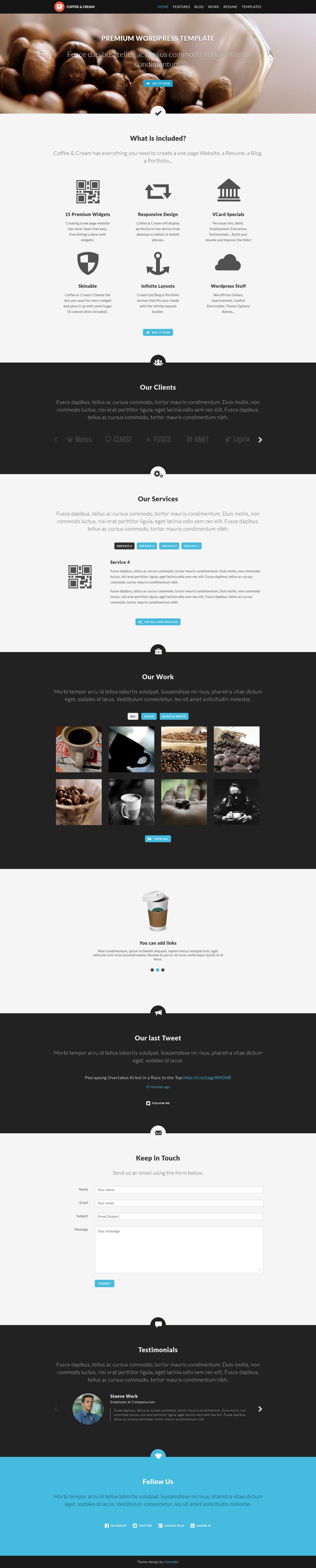Coffee WP Theme by sandracz