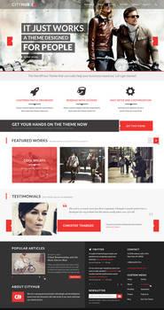 CityHub: Blog WordPress Theme