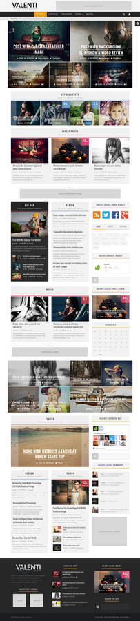 WordPress HD Magazine News Theme