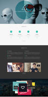 OneUp - One Page Parallax Theme by sandracz