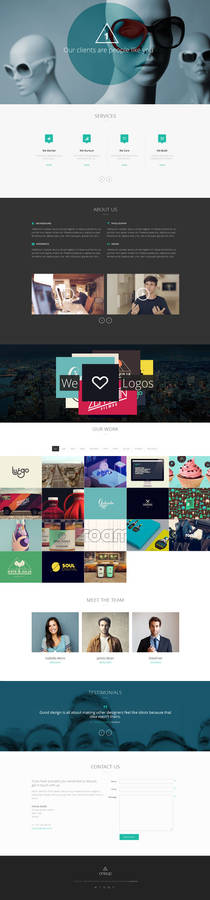OneUp - One Page Parallax Theme