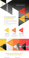 3Angle - Agency Creative HTML Template by sandracz