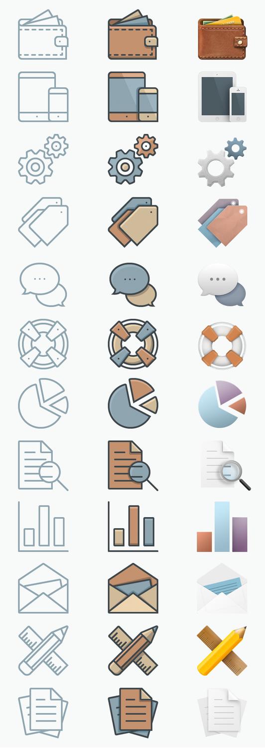 FREE Icon - Set by sandracz