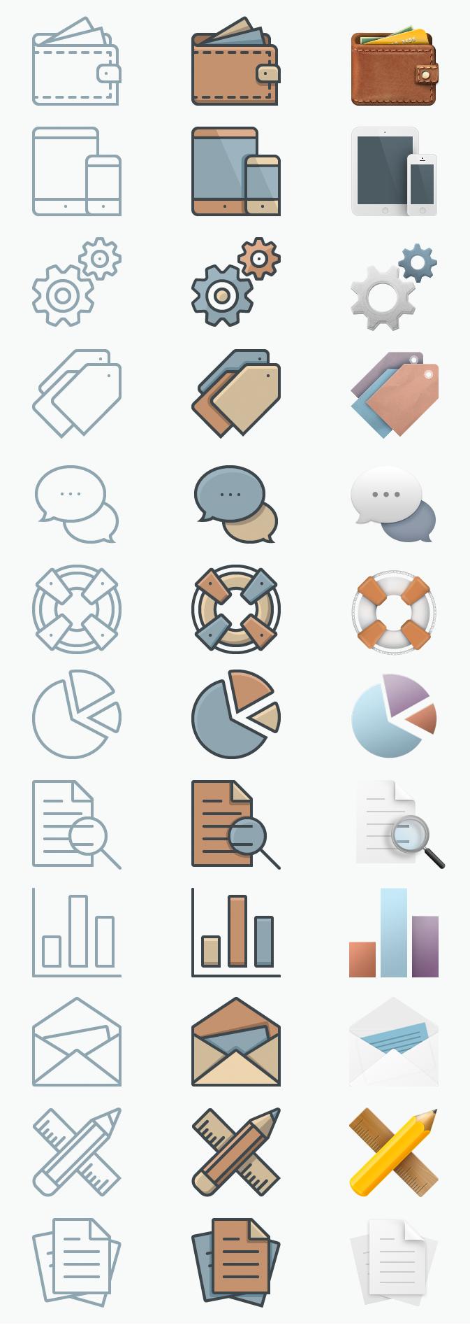 FREE Icon - Set