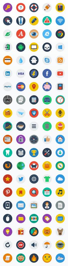 CreAtive - Flat Icons