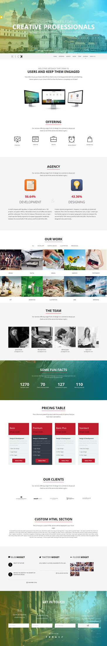 Kick - WordPress Theme by sandracz