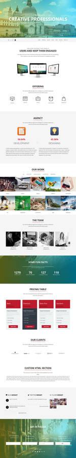Kick - WordPress Theme
