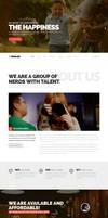 Xovlox - One Page Parallax Portfolio Theme