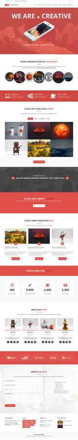 Cherry - Multi Page Theme