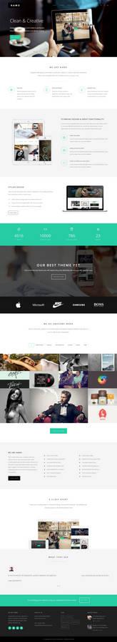 NAMO - Creative Multi-Purpose Wordpress Theme