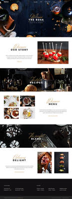 ROSA - An Exquisite Restaurant Theme