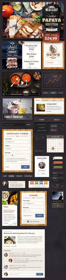 Restaurant UI Kit