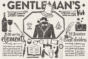 Gentleman's Graphic Kit by sandracz