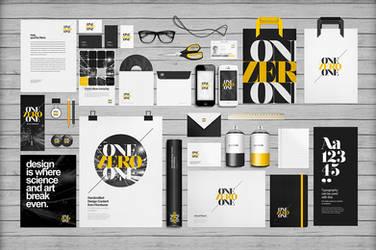 Flat Identity/Branding Mock-ups by sandracz