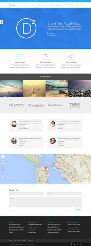 Divi - Professional WordPress Theme