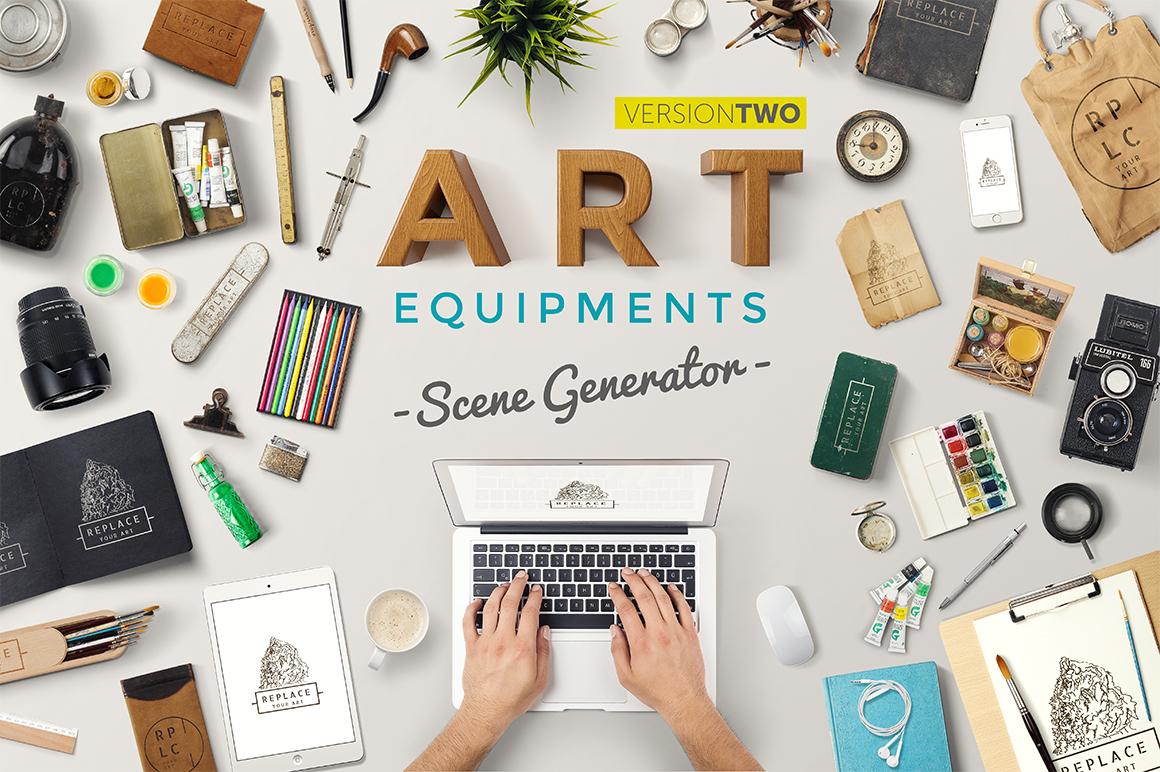 Art Equipments Scene Generator V2 by sandracz