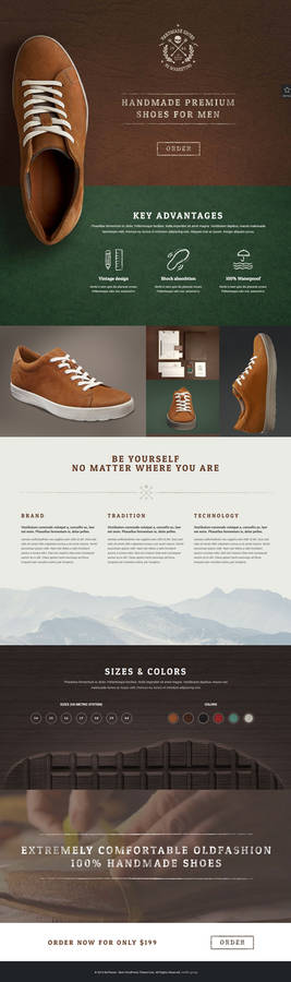 BeHandmade - Shoes Web Template