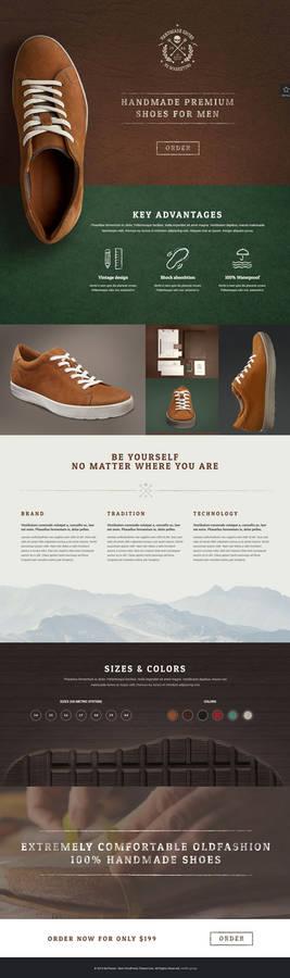 BeHandmade - Shoes Web Template