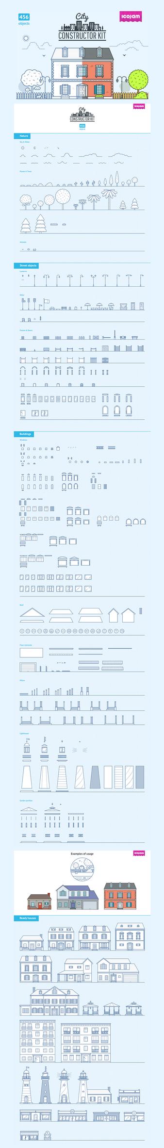 City Constructor Kit by sandracz