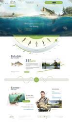 Creative Fishing Website