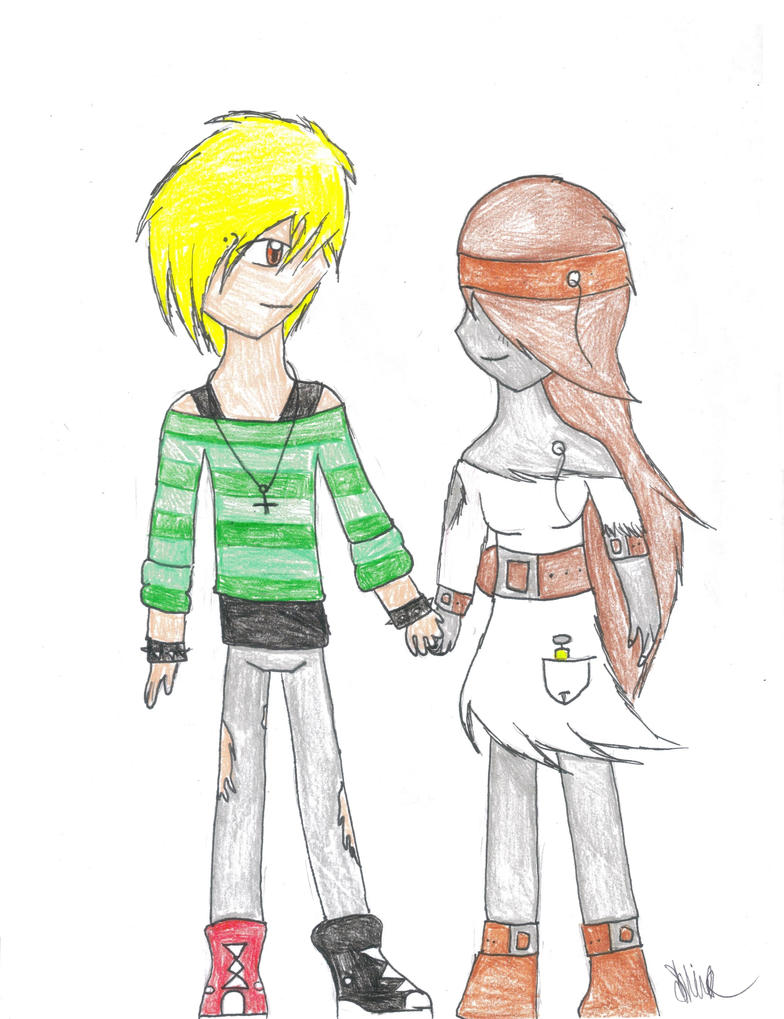 XaiverxShockwave OTP Challenge: Holding hands by Shocky-Shiver