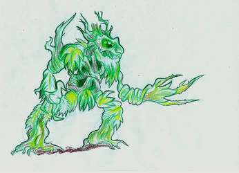 The Element Lord of Plantlife by Vrahno