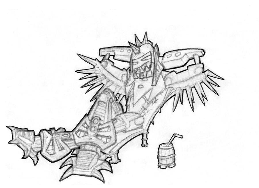 [Fan-arts] Les dessins de Hero Factory du net XPlosive_chillin___by_Vrahno