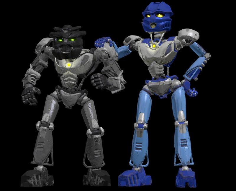 Gali and Onua Nuva 3D models by Vrahno