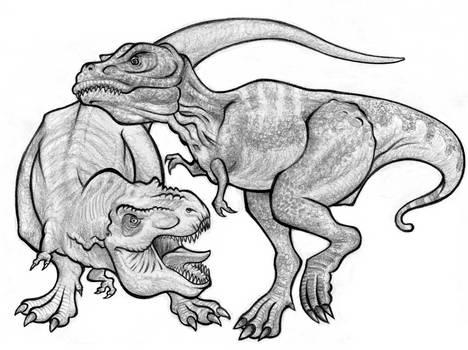 T. rex Media Queens