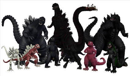 Godzilla Groupshot