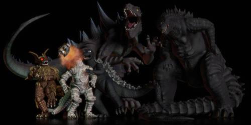Three Godzilla Films