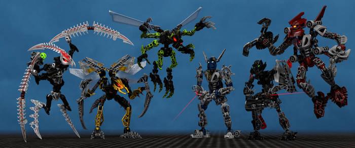 Bionicle Mistika groupshot